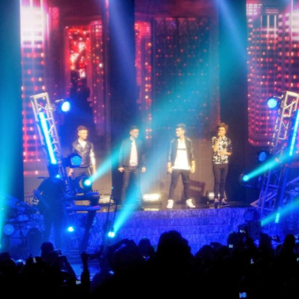 Union J concert, 23 December. Dag 2 van London. + Happy new year!