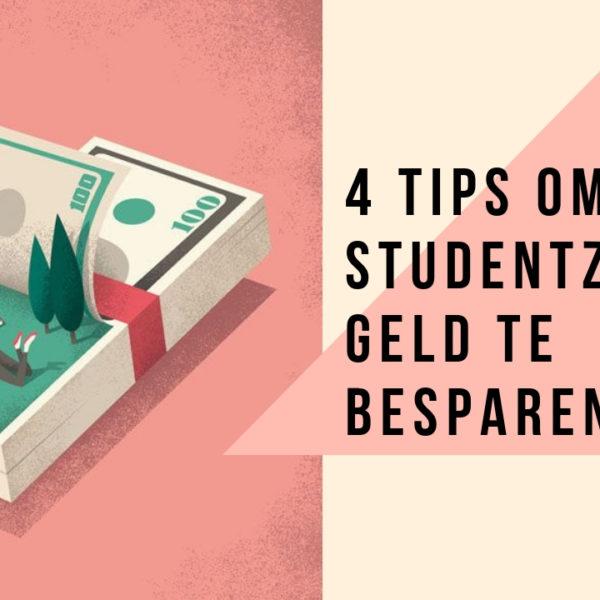 4 tips om als student zijnde geld te besparen! | Money money money!