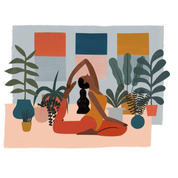Mijn eerste ervaring met Yoga