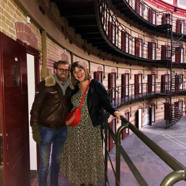 Een kijkje binnen de muren van de Koepel gevangenis..