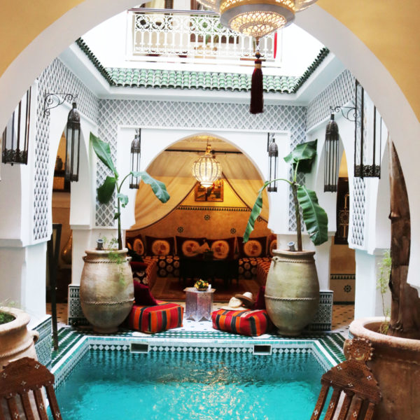 Bijzonder overnachten in Marrakech: Riad Jemaa El Fna