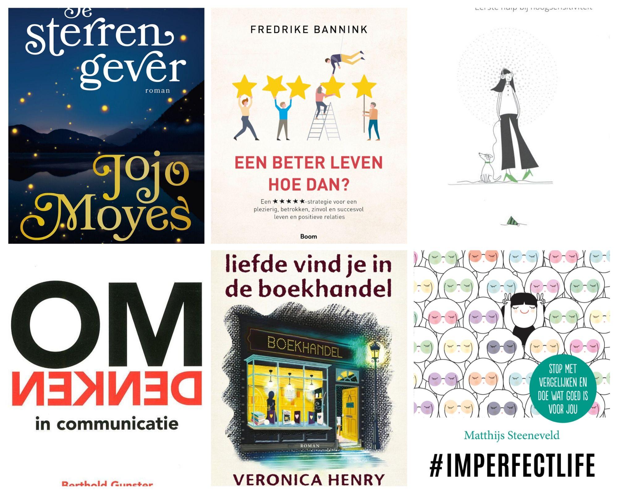 Deze 6 boeken las ik in de maand Januari!