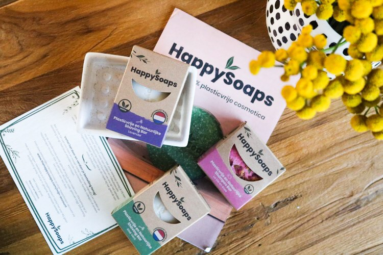 Review | HappySoaps Shampoo en Shaving bar