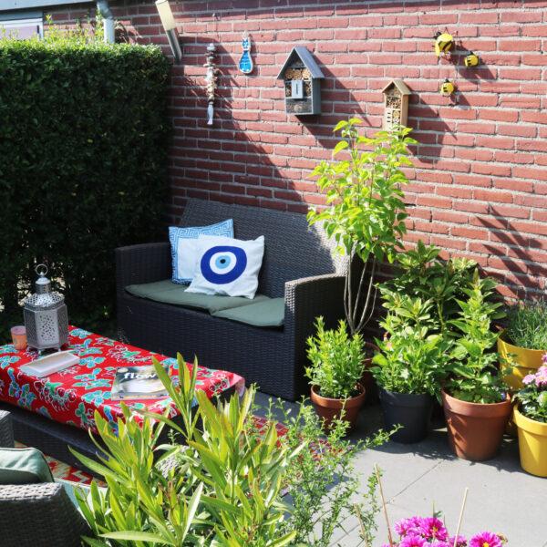 In een kleine tuin een bloemen/moestuin beginnen! Ik deel 5 tips.